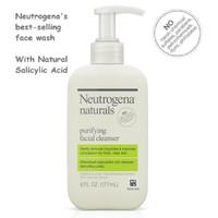 Neutrogena Naturals Purifying Facial Cleanser Natural Salicylic Acid