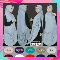 Jilbab/Hijab/Khimar Cardy/Cardi Aliyya,Terbaru,Termurah