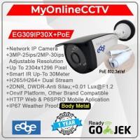 Paket IP Camera CCTV Outdoor Asli 2MP Kualitas Setara Hikvision Avtech