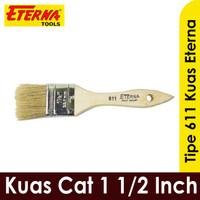 Kuas Eterna 1-1/2 Inch kuas cat tembok besi kayu 611