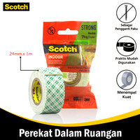 Mounting Double Tape Size 24 mm x 1 mm 3M Scotch 110-1A