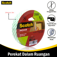 Mounting Double Tape Size 24 mm x 3 mm 3M Scotch 110-3A