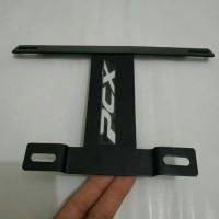 Tatakan Dudukan Breket Plat Nomor PCX / Bracket Plat Kumis Pcx 150