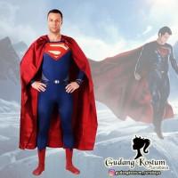 Original jual kostum superhero superman dewasa pria