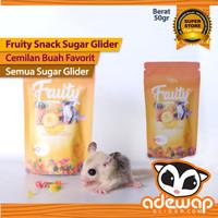 fruity snack camilan untuk sugar glider & hewan kecil lain nya