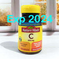 Nature Made Vitamin C Vit C 500mg 100 caplets