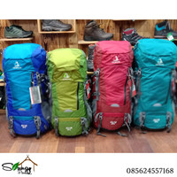 Tas Gunung / Carrier Akasaka Ceeta 50+5 Include Rain Cover Terlaris