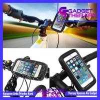 Waterproof Case Bracket Holder HP Smartphone Sepeda Motor 5.5-6 Inch
