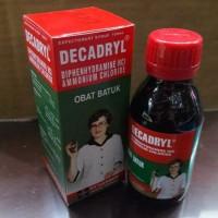 Jual Decadryl Expectorant Sirup 120 ml /Sirup Obat Batuk/Besar