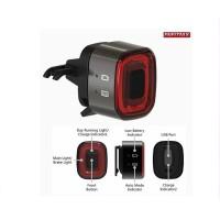 Enfitnix CubeLite II Smart Tail Light Black