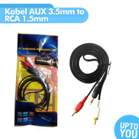 Kabel AUX 3.5mm to RCA 1.5mm