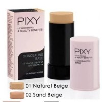 PIXY Concealing Base 9g ( UV Whitening 4 Beauty Benefits concealer )