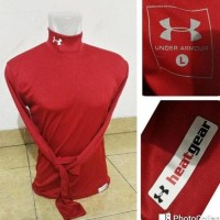 Baselayer Manset Under Armour Heat Red