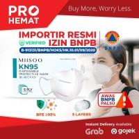 Disposable Facemask KN95 Mask Kesehatan N95 Masker Wajah 5 Layer BNPB - KN95 1pcs