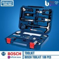 BOSCH Toolkit 108 Pcs Mixed Set 108pcs (108 Multifunction Tool Kit)