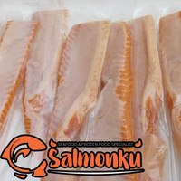 Ikan Salmon Fillet Trout Norwegia Belly/Lemak 500 gram (Sashimi Grade)