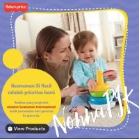 Fisher Price Rock-a-Stack - Mainan Edukasi Anak Bayi
