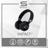 SOUL IMPACT OE Wireless Bluetooth High Efficiency Headphone - BLACK
