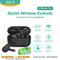Zola Wireless AirBuds Pro TWS Bluetooth With Wireless Charging Case