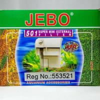 JEBO 501 SUPER MINI EXTERNAL / FILTER GANTUNG AQUASCAPE / AQUARIUM