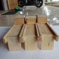 alat pemotong Bawang merah - pengiris keripik kayu