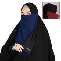 Cadar Tali Karet Bolak Balik 2 Warna Sifon Premium Alsyahra Exclusive