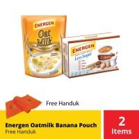 Energen Oatmilk Banana Pouch Free Handuk