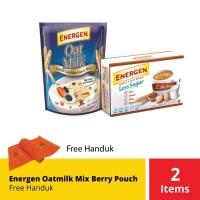 Energen Oatmilk Mix Berry Pouch Free Handuk