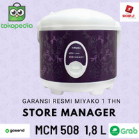 Miyako Rice Cooker Miyako Magic Com Warmer Plus MCM 508 1.8 L