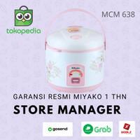 Miyako Rice Cooker Miyako Magic Com MCM 638 1.8 L