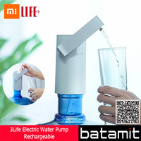 (batamit) Xiaomi 3Life J03 Water Pump Rechargeable (Pompa Air Galon)