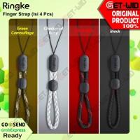 Ringke Finger Strap Paracord Lanyard Mobile Phone Strap Gantungan HP