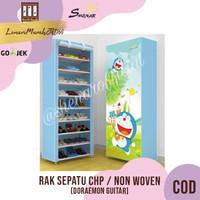 Rak Sepatu CHP Cover Karakter 10 Susun 2Kg - DORAEMON GUITAR,SHENAR