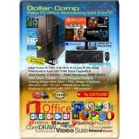 Paket Komputer PC Rakitan Office Admin Intel Core i5 with SSD