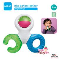 MAM Baby Bite & Play Teether Gigi Mainan Gigitan Bayi Rattle MAM015