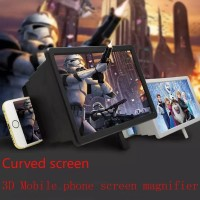 3D Enlarged Screen HD Mobile Phone Screen Magnifier Stick Holder Mobil