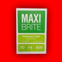 Kertas HVS Maxi Brite F4 70gr