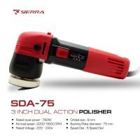 SIERRA SDA-75 MESIN POLES 3inch DUA ACTION (DA)