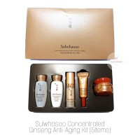 Sulwhasoo Concentrated Ginseng Renewing EX Kit (5 items)