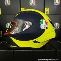 Helm AGV Pista GPR Clone 1:1 Versi 3 Valentino Rossi Soleluna 2018