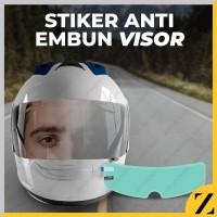 Anti Fog Helm Film Stiker Sticker Anti Embun Visor Helm Kaca Dalam AEP
