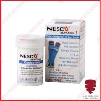 Nesco Cholesterol Test Strip Cek Kolesterol Lemak Refill Isi 10 Stick