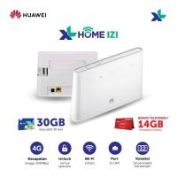 Huawei B311 Modem Home Router Wifi 4G LTE Free XL Home IZI 30GB 30Hari