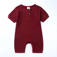Baby Romper [KIDS TALES] - Maroon, 12-18 Bulan