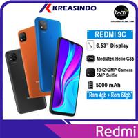 Xiaomi Redmi 9C 4/64 Ram 4gb Internal 64gb Garansi Resmi TAM