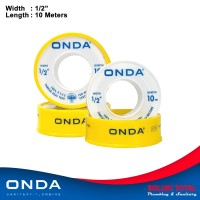 Seal tape ONDA 10 Meter Sealtape / Isolasi pipa keran