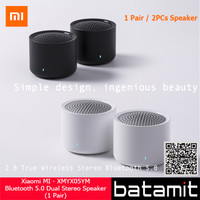 Xiaomi MI Wireless Bluetooth 5.0 Dual Stereo Speaker with Mic (1-Pair)