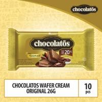 Chocolatos Wafer Cream Original - 26g (WAFO8) By Garudafood