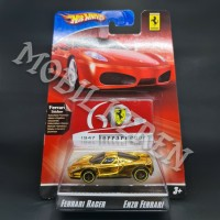 Hot Wheels 60th Years Anniversary Ferrari Racer Enzo Ferrari Gold