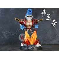 RARE Action figure Statue One Piece Franky GK battle action fire mode